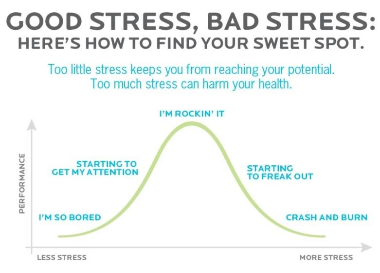 Goede vs slechte stress