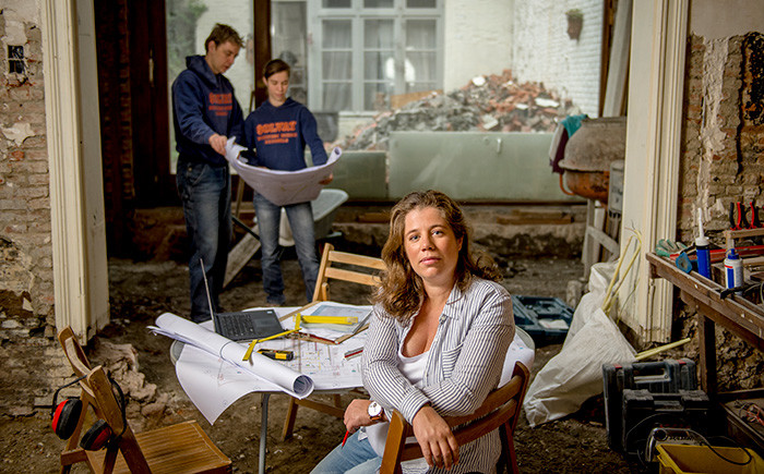 Nathalie Hocké huis verbouwen
