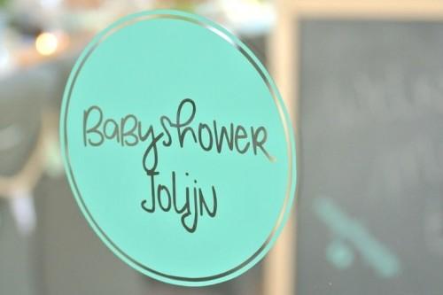 Babyshower stickers voor de perfecte babyshowerversiering