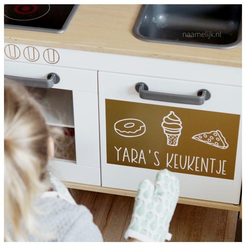 Ikea keukentje pimpen zonder verf - in gebruik