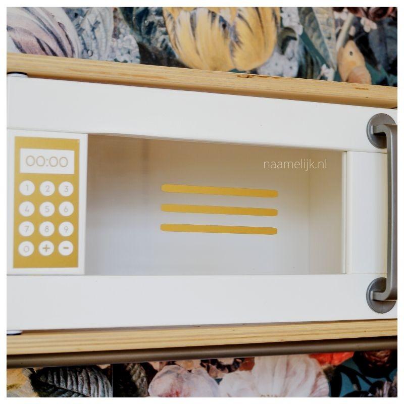 Ikea keukentje pimpen zonder verf - magnetron