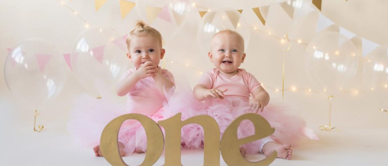 Verjaardag van een tweeling? Dubbel feest!