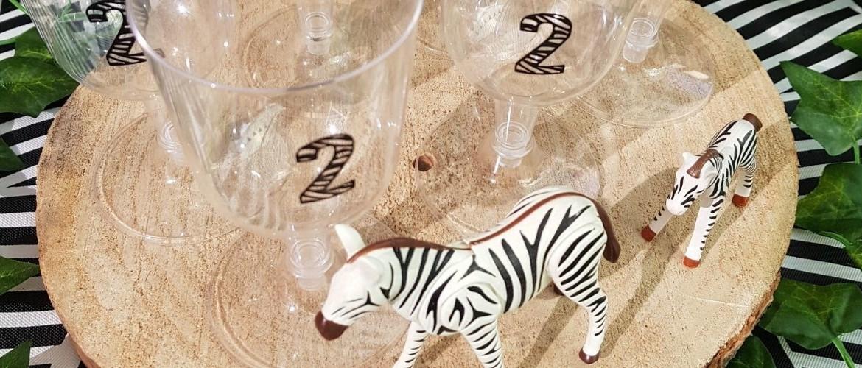 Organiseer een onvergetelijke verjaardag in zebrathema!