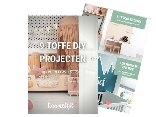 9-diy-projecten met naamstickers