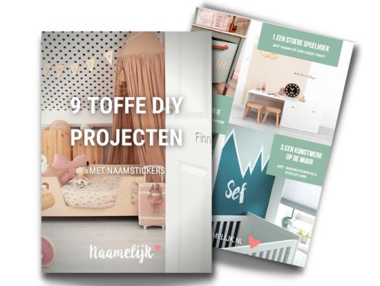9 diy-projecten met naamstickers