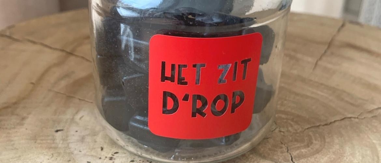 DIY: Maak een 'Het zit d'rop-pot' als afscheidscadeautje