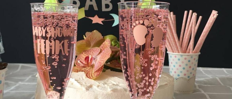 Glazen personaliseren voor een babyshower of kraamfeest