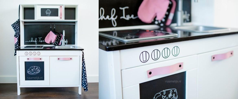 Ikea keuken sticker op achterwand