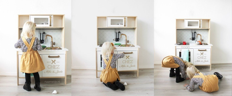 Ikea keuken sticker 'Chez'