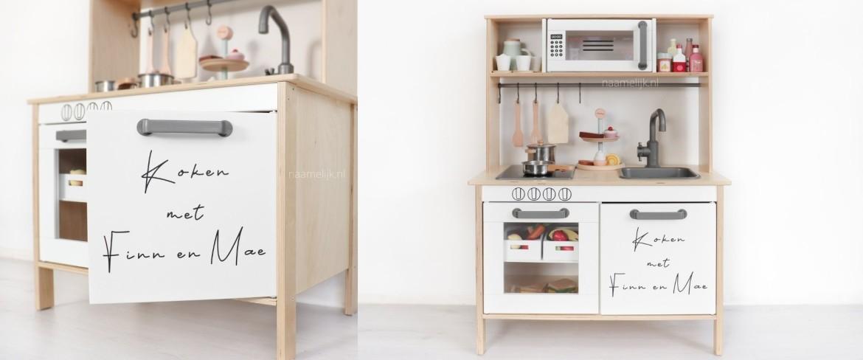Ikea keuken sticker 'koken met'