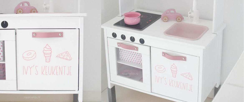 Ikea keuken sticker 'Lekkers'
