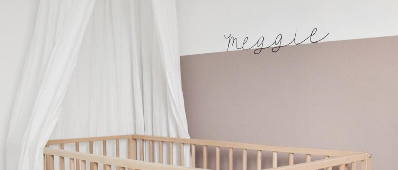 Muursticker op de babykamer: inspiratie en tips!