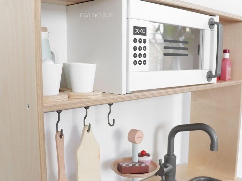 Keukensticker magnetron op keukentje