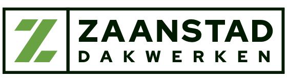 Groot groen zwart logo Zaanstad Dakwerken