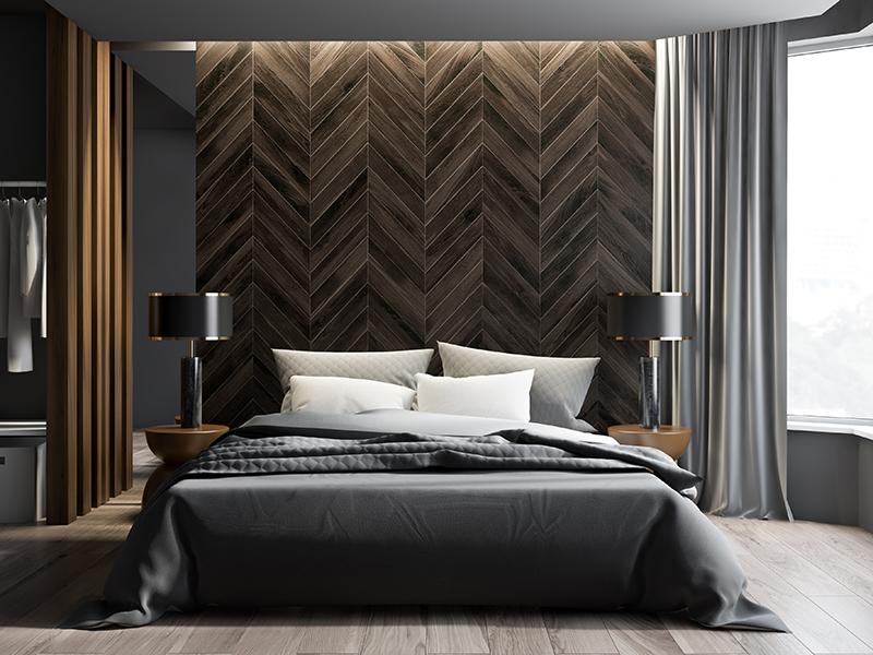 moderne master bedroom