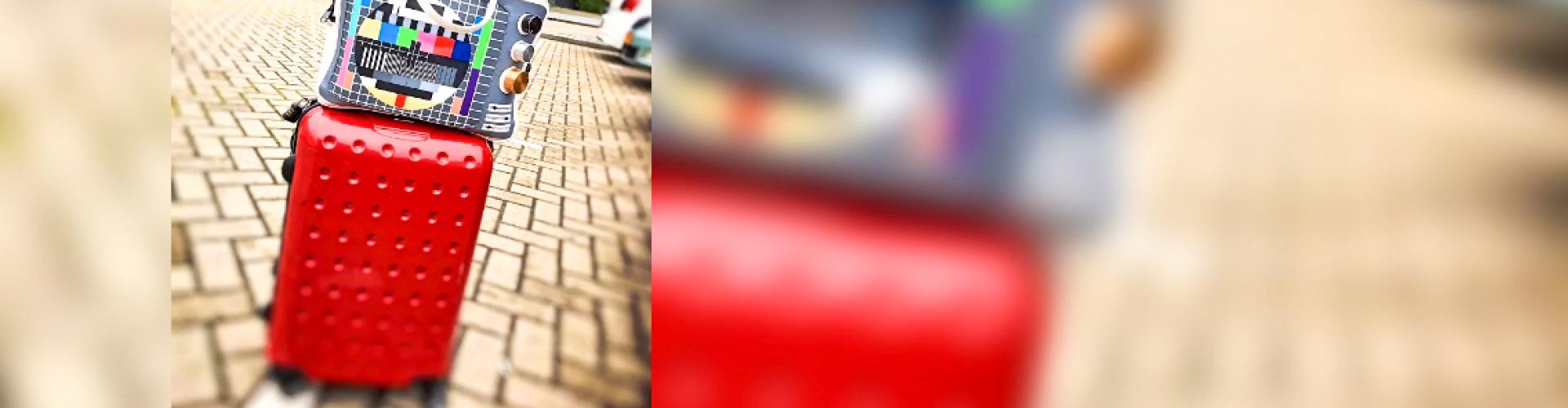 Rode Koffer Selfiestick