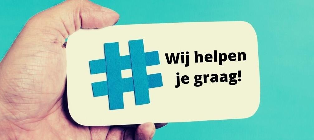 Hulp bij hashtags en social media strategie