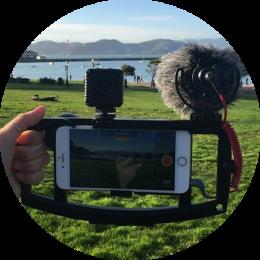 Steady shot smartphone video's maken