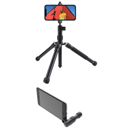 Advies apparatuur smartphone video