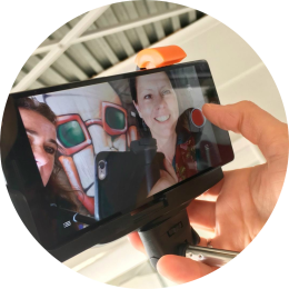 Professionele video's smartphone