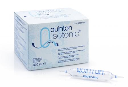 Quinton Isotonic Oceanwater 30 x 10 ml glazen ampullen