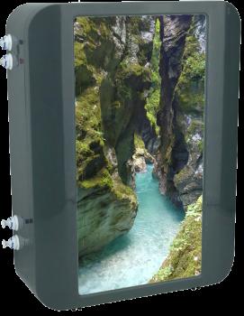 Natural Flow System voor moleculair zuiver drinkwater