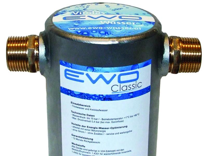 EWO Classic watervitalisatie voor het hele huis of pand