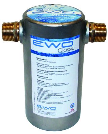 EWO Classic watervitalisatie voor het hele huis / pand