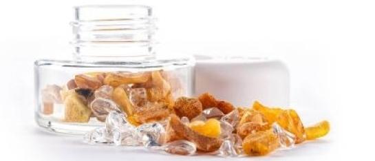 VitaJuwel DIY INU Crystal Jar Amber