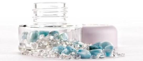 VitaJuwel DIY INU Crystal Jar Larimar
