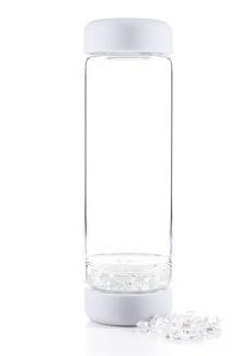 VitaJuwel DIY INU Crystal waterfles Cloud White