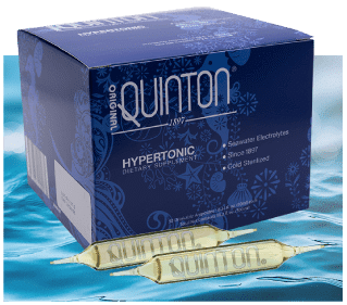 Quinton Original Hypertonic glazen ampullen 10 ml x 30