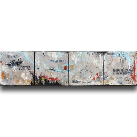 abstract schilderij Nikki Genee