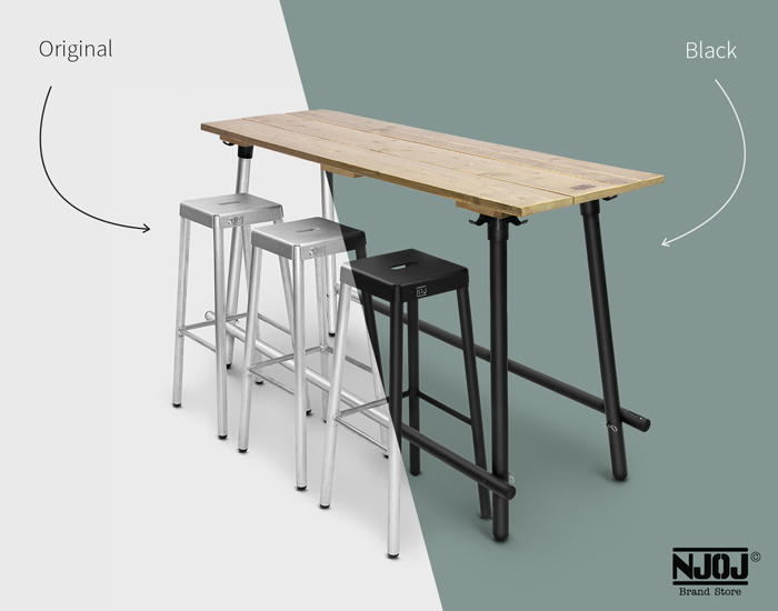 180cm-dennenhout-industriele-statafel-zwart-aluminium