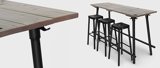 bartafel-doug-black-180cm