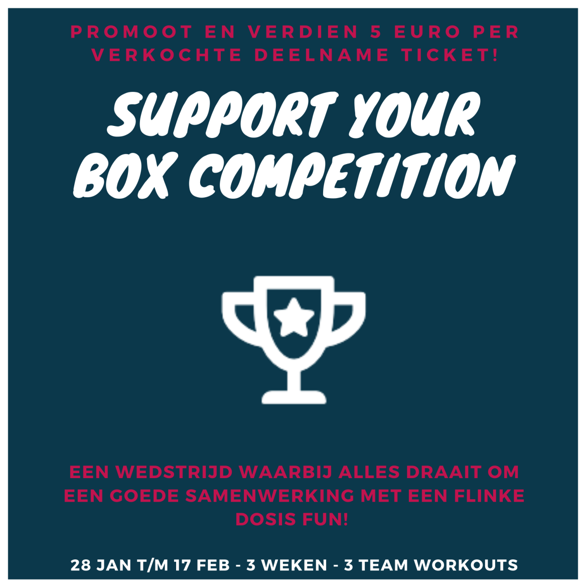 Support your box competitie