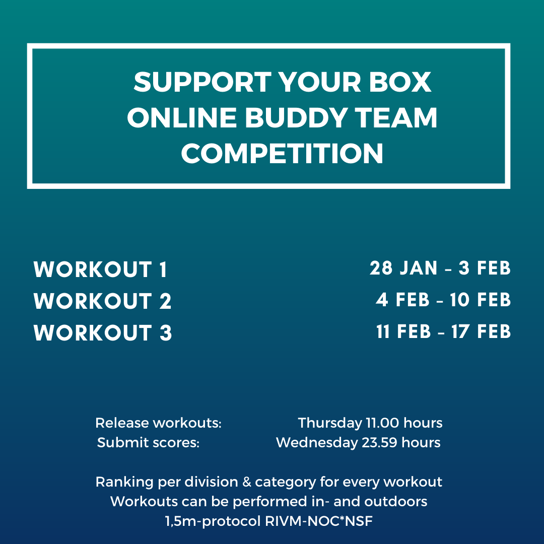 Support your box competition agenda