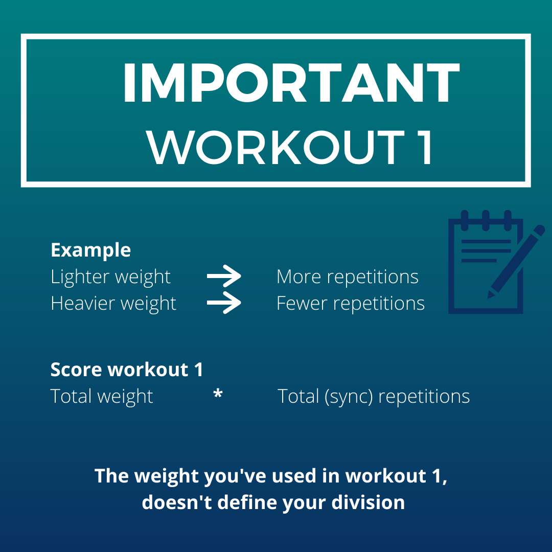 example workout 1