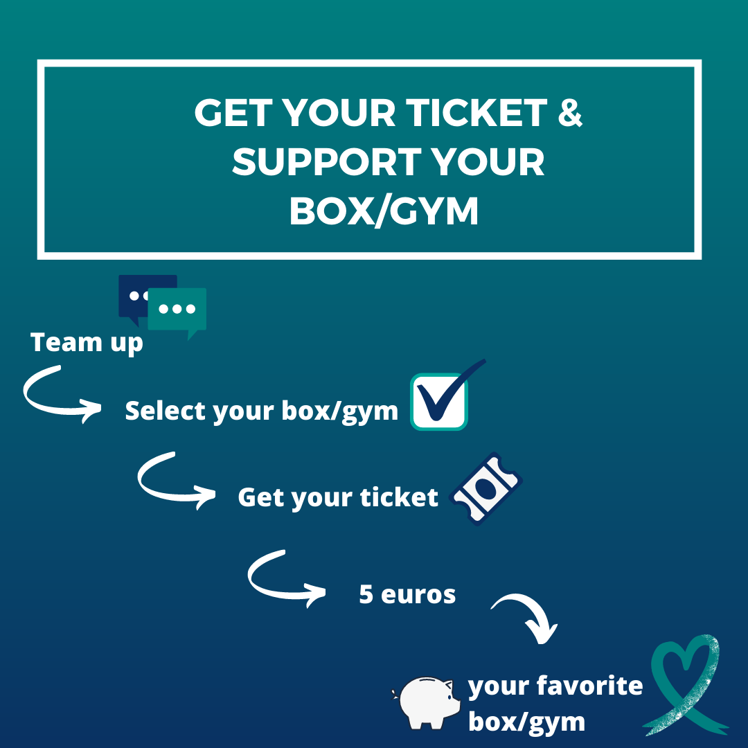 get your ticket & Support your box/gym