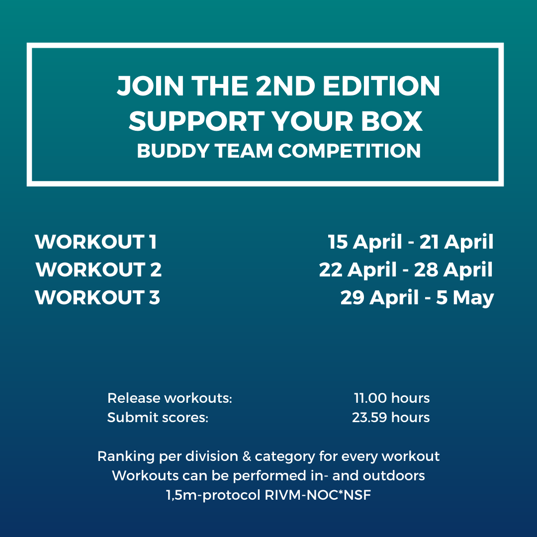 Support your box competition schedule