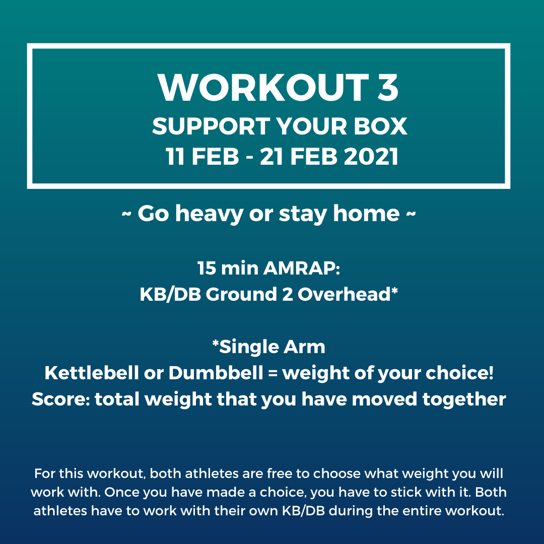 update workout 3 - support your box - njoya league