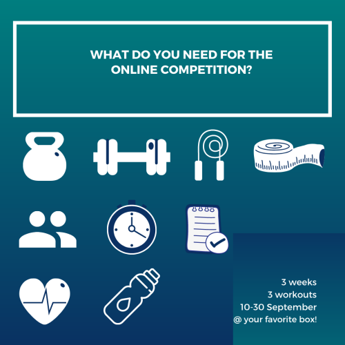 what do you need for the online competition?