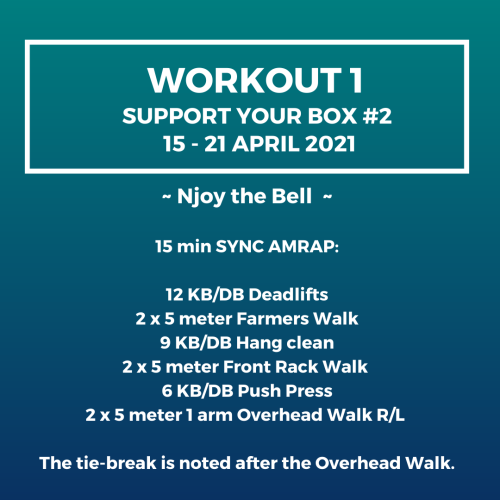 Workout 1 visual Support your box 2 Njoya League