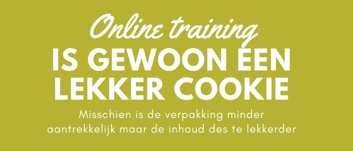 NLP Training online?? Nee joh dat is niets voor mij!