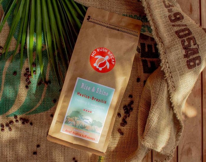 Rise & Shine cafeïnevrije koffiebonen