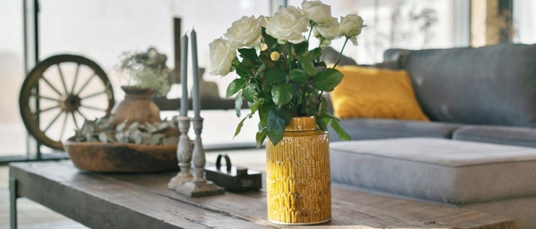 Maak uw landelijke interieur interessanter met deze 5 tips