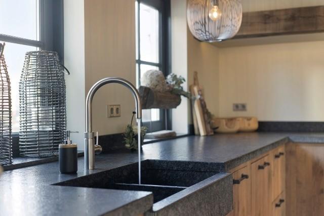 Keuken op ideale werkhoogte