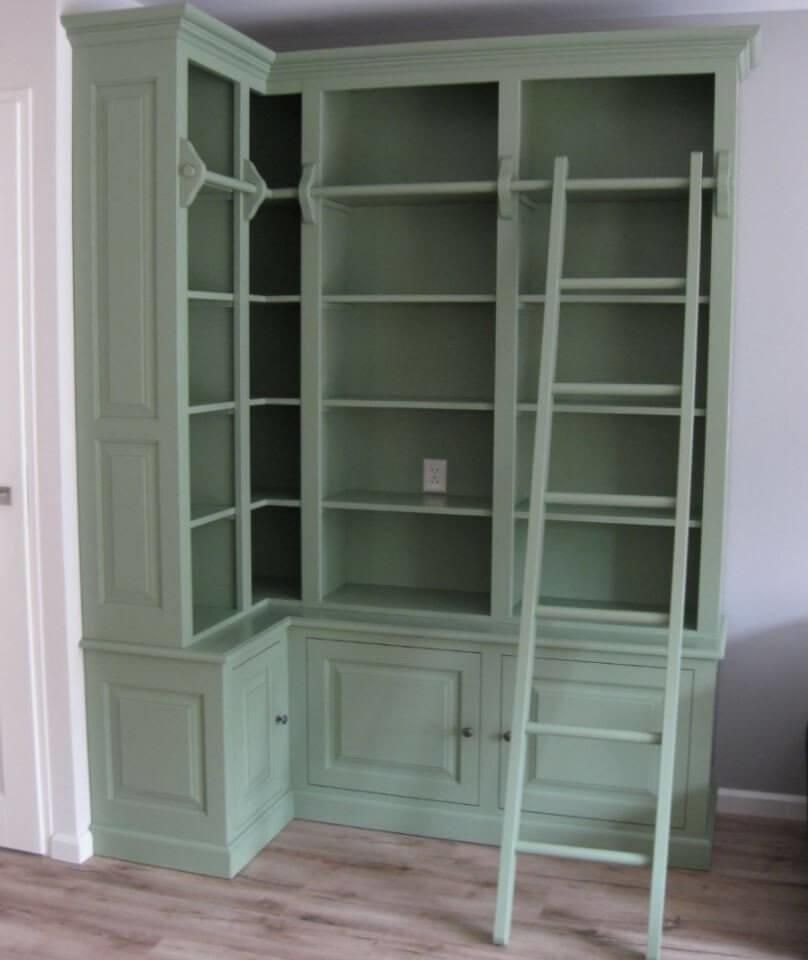 Landelijke boekenkasten
