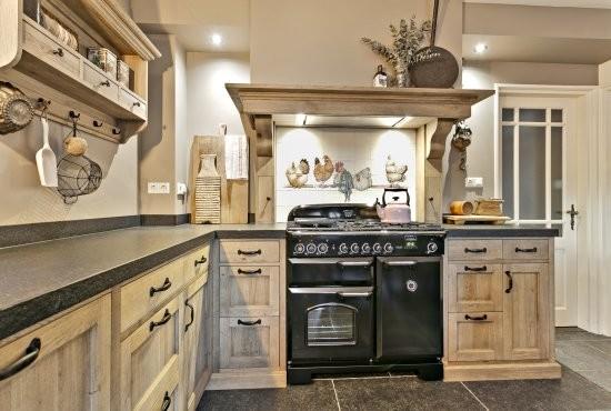 Keuken apparatuur landelijke keuken