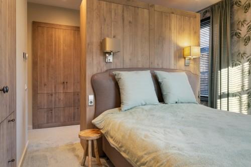Slaapkamer in landelijke stijl